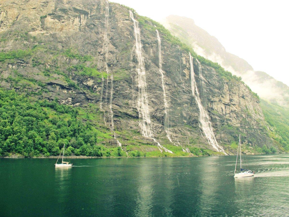Upplev de norska fjordarna