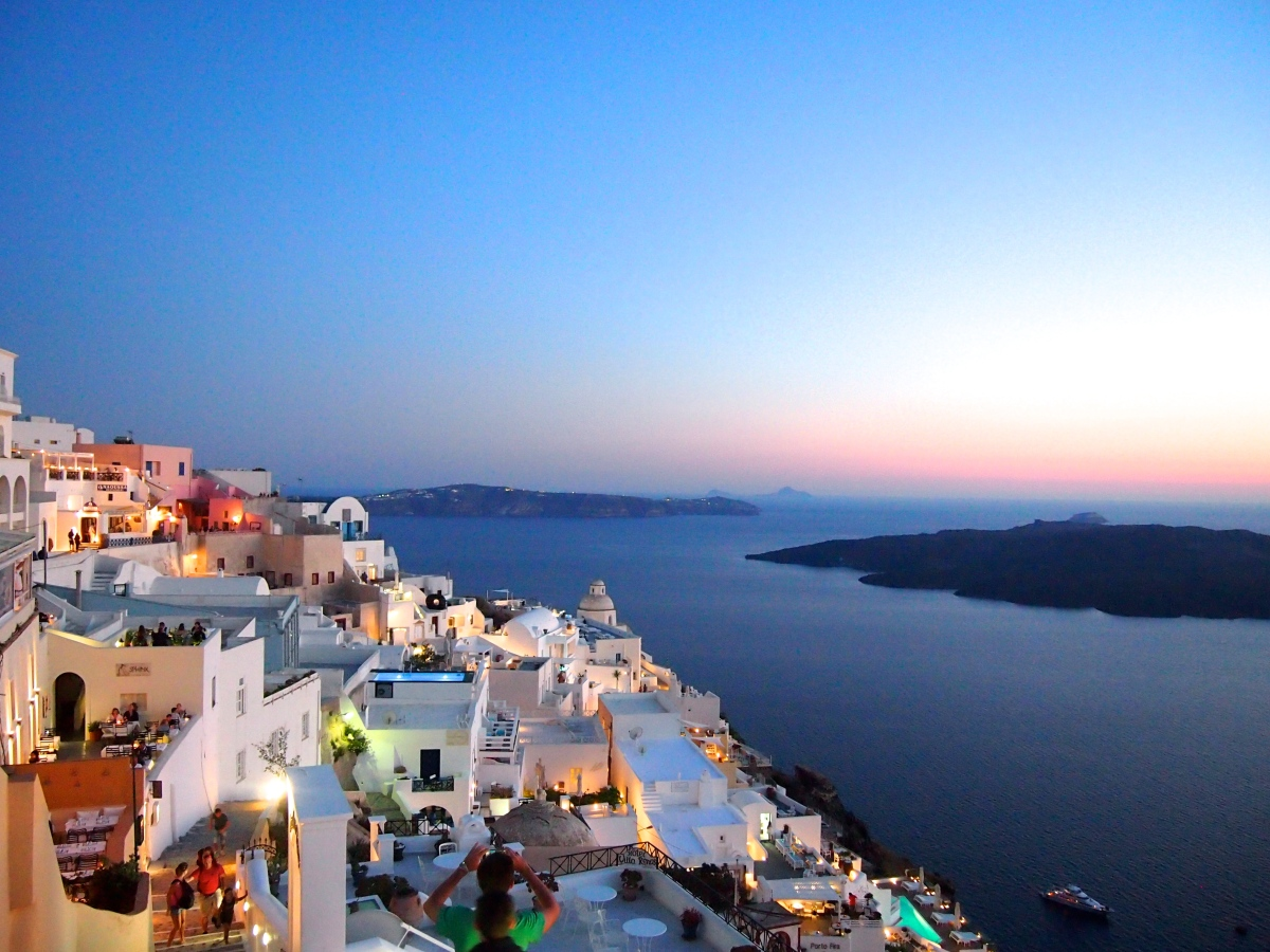 Båtluffa i Grekland