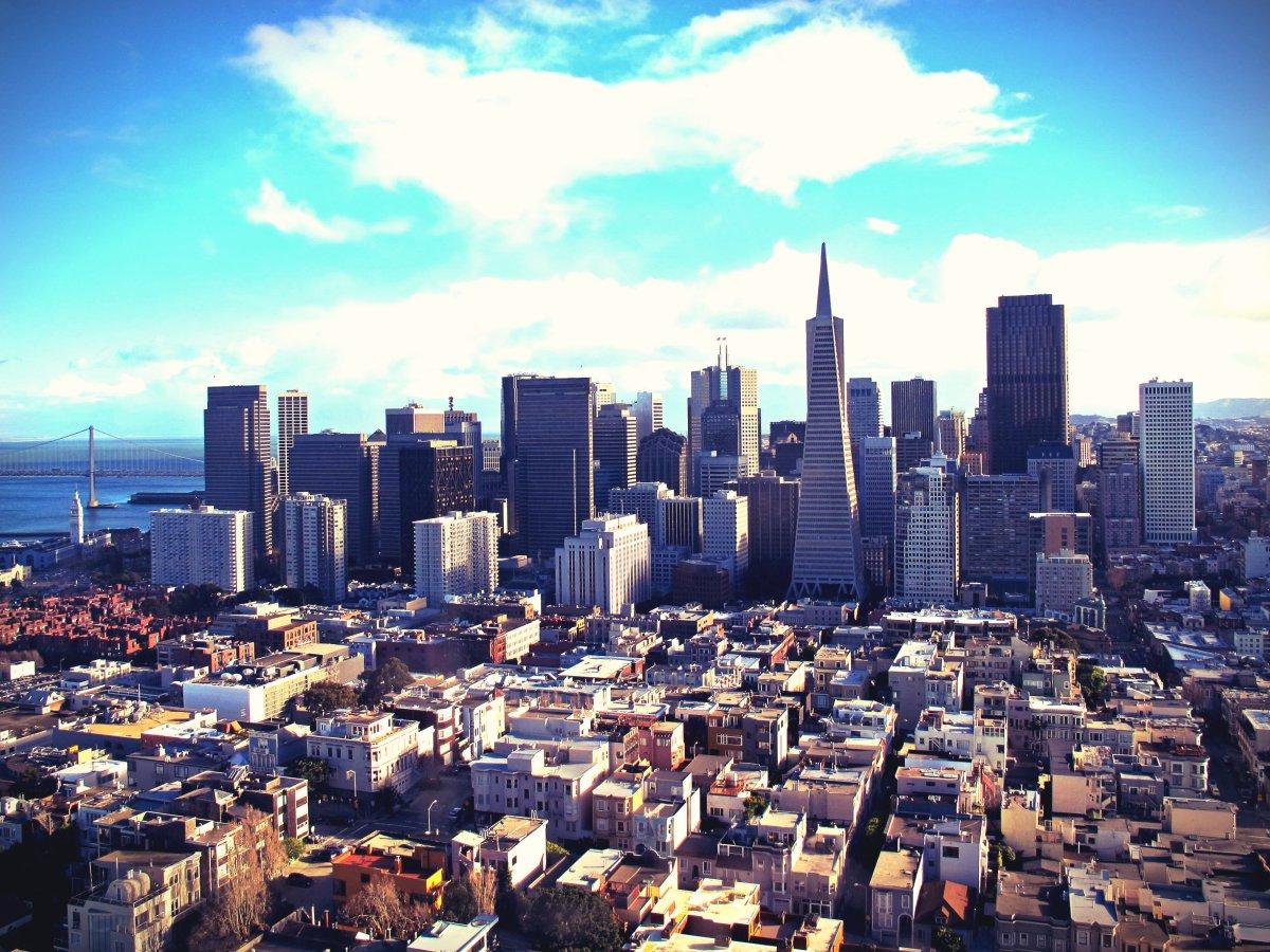 5 områden att besöka i San Francisco