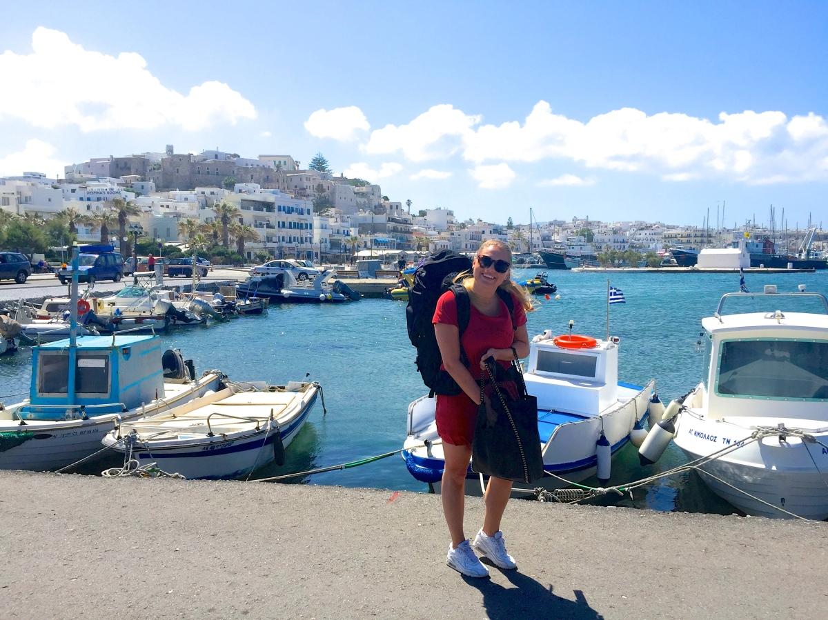 Båtluff: Naxos