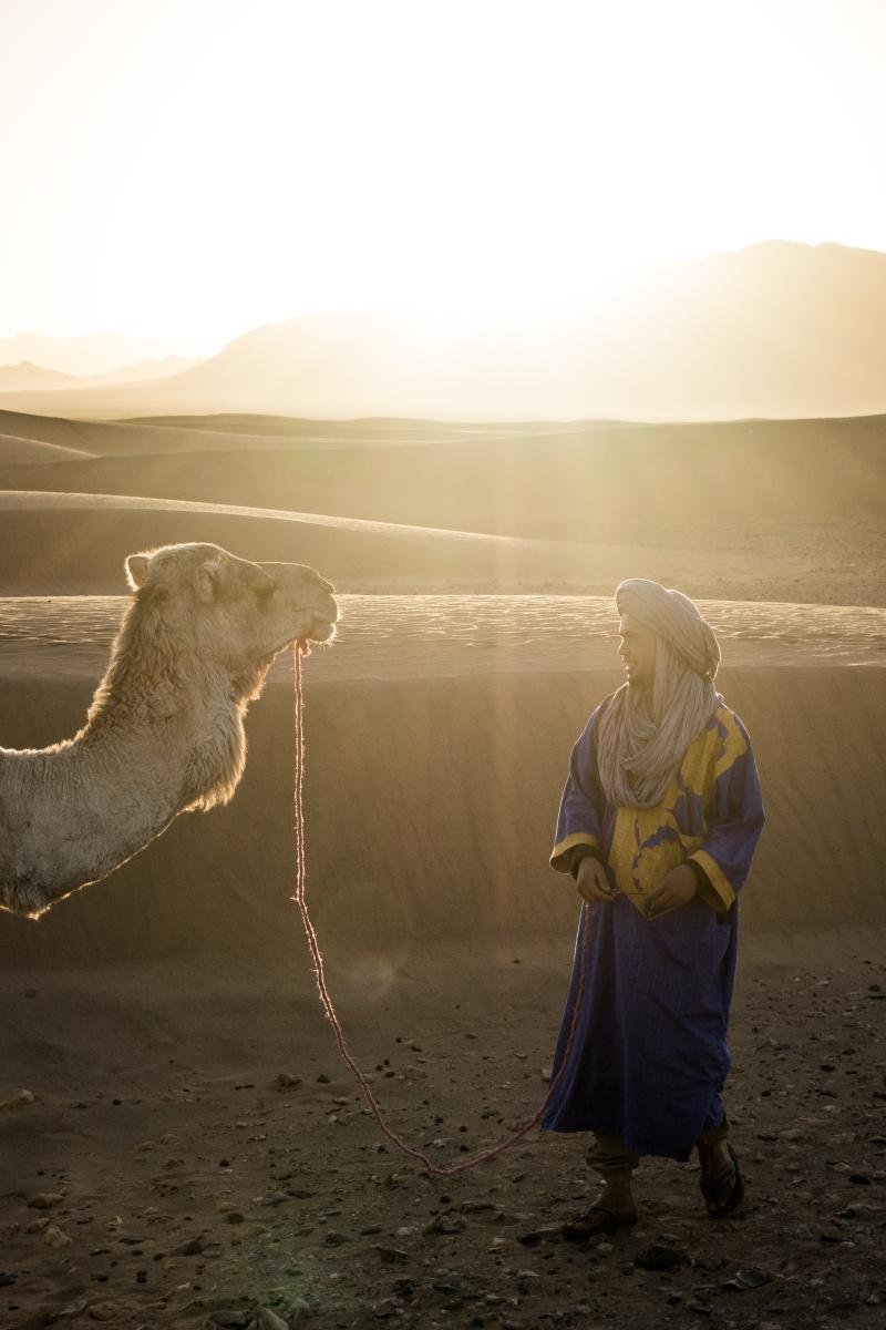 En marockansk bergochdalbana